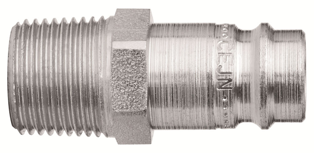 CEJN 1/4 BSP Male Thread CEJN 410 Nipple}