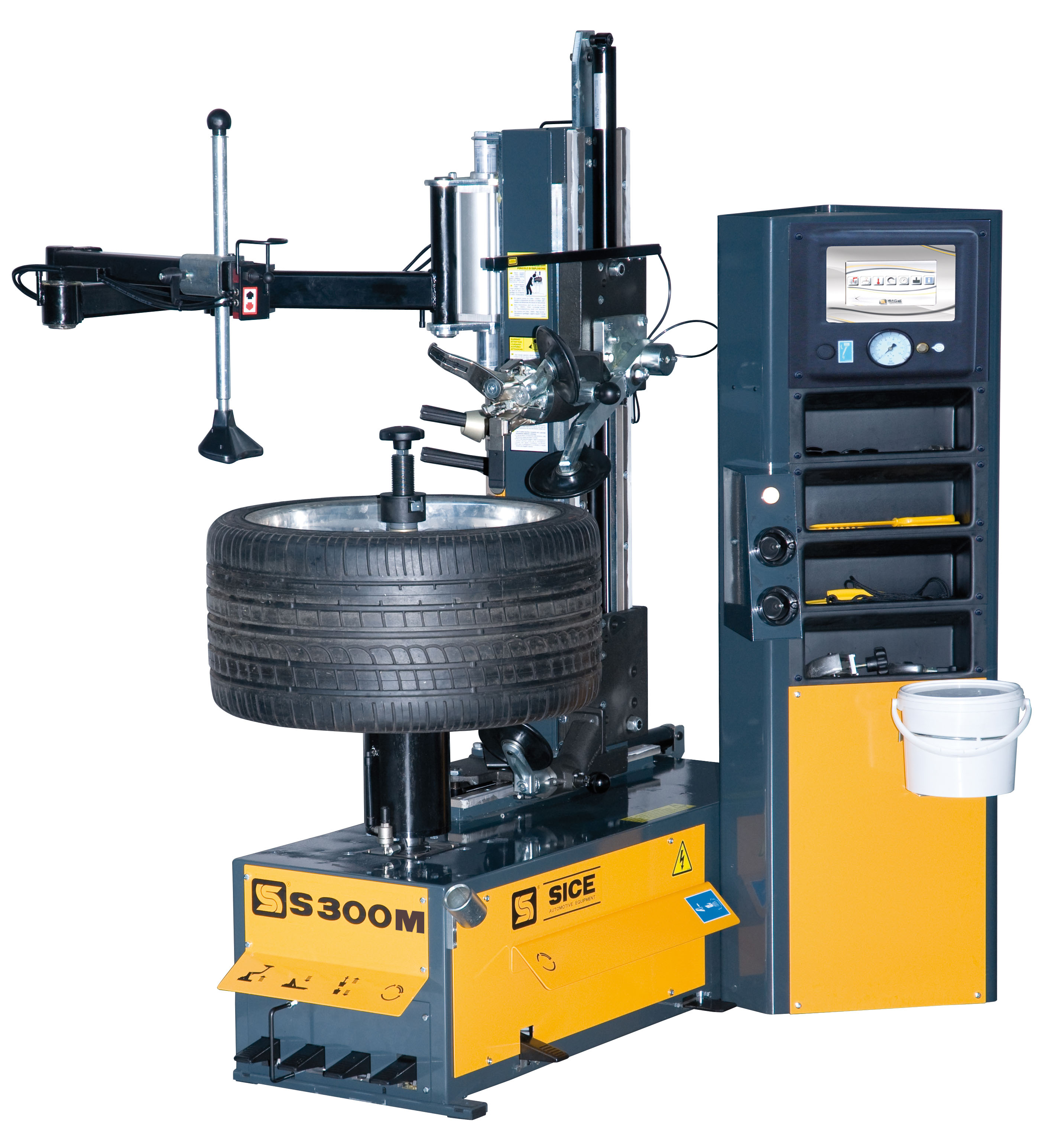 S300 Car Tyre Changer Automatic Hydraulic 1 phase}
