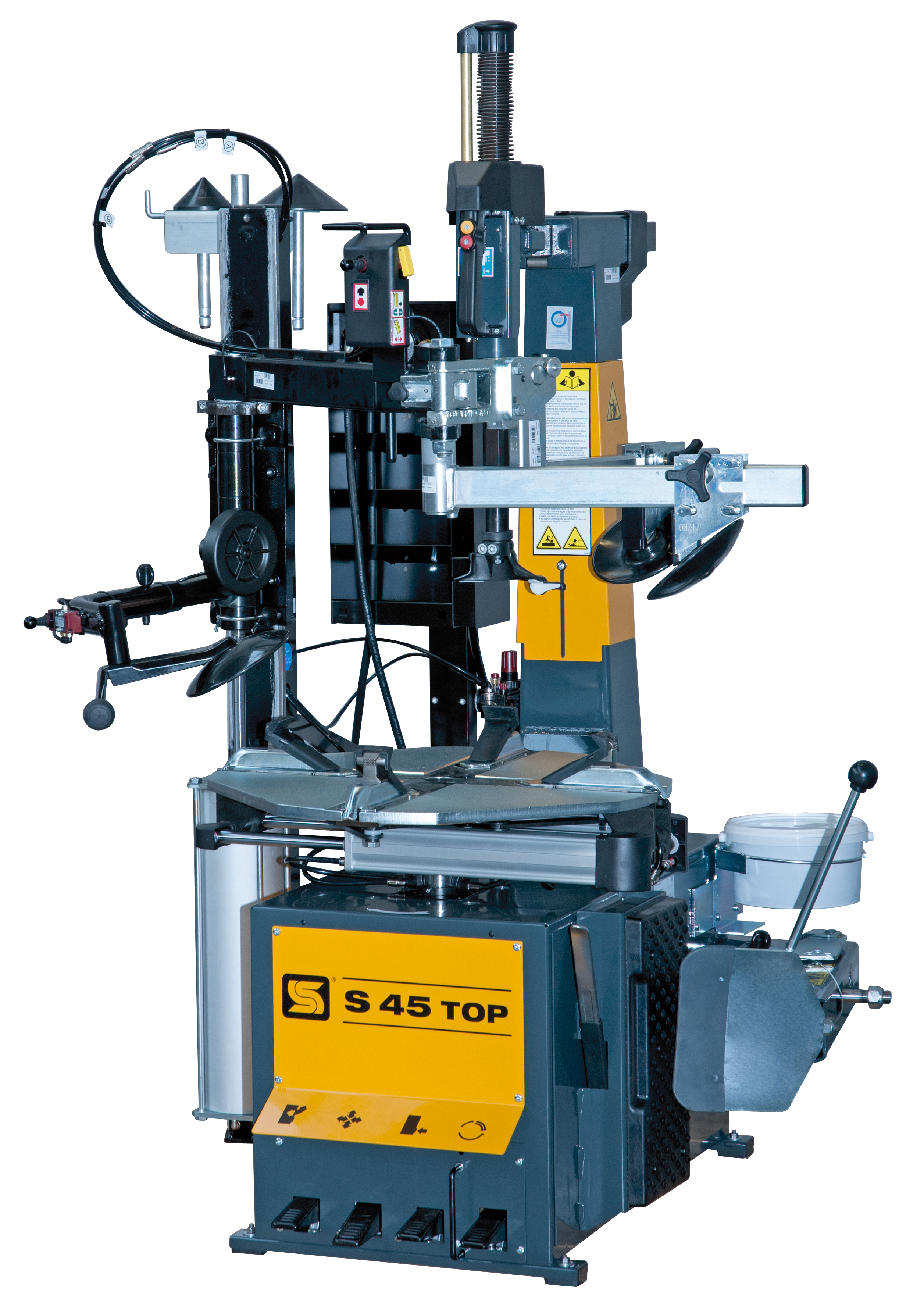S45TOP TYRE CHANGER WITH ASSIST ARM 1 PHASE}
