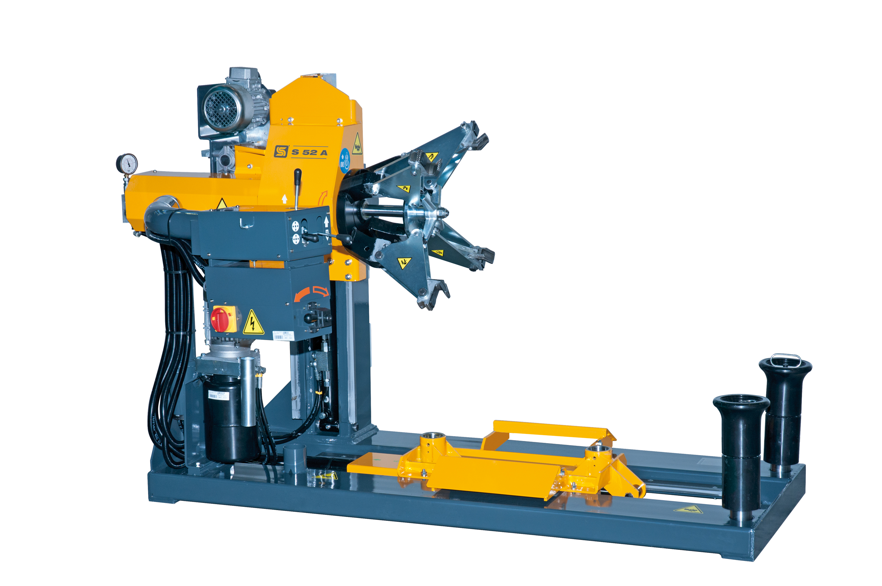 S52 Truck Tyre Changer - 3 Phase YELLOW}